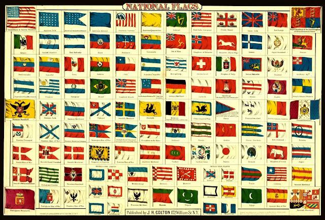 Metamora Herald international flags picture