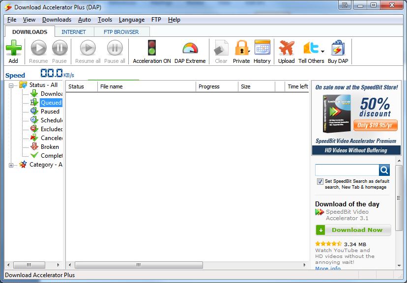 download accelerator plus(dap) premium full version + crack - The
