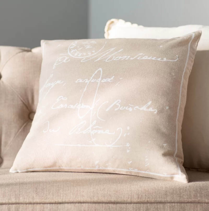 Landes 100% Cotton Pillow Cover