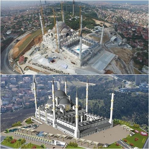 Masjid Camlica, Masjid Terbesar di Turki Telah Dibuka untuk Ibadah