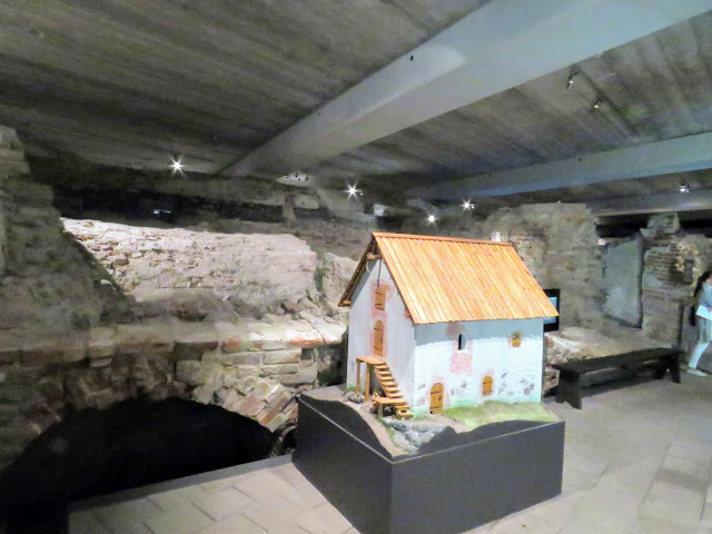 Reproduction of a medieval house at Aboa Vetus and Ars Nova museum in Turku on a Finland roadtrip