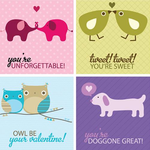 My Owl Barn More Valentine Printables