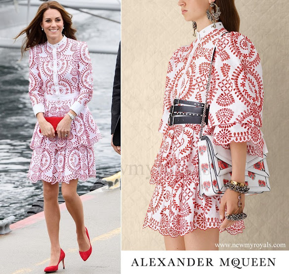 Kate Middleton wore Alexander McQueen Dress - Resort 2017