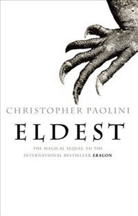 Eldest by Christopher Paolini book cover