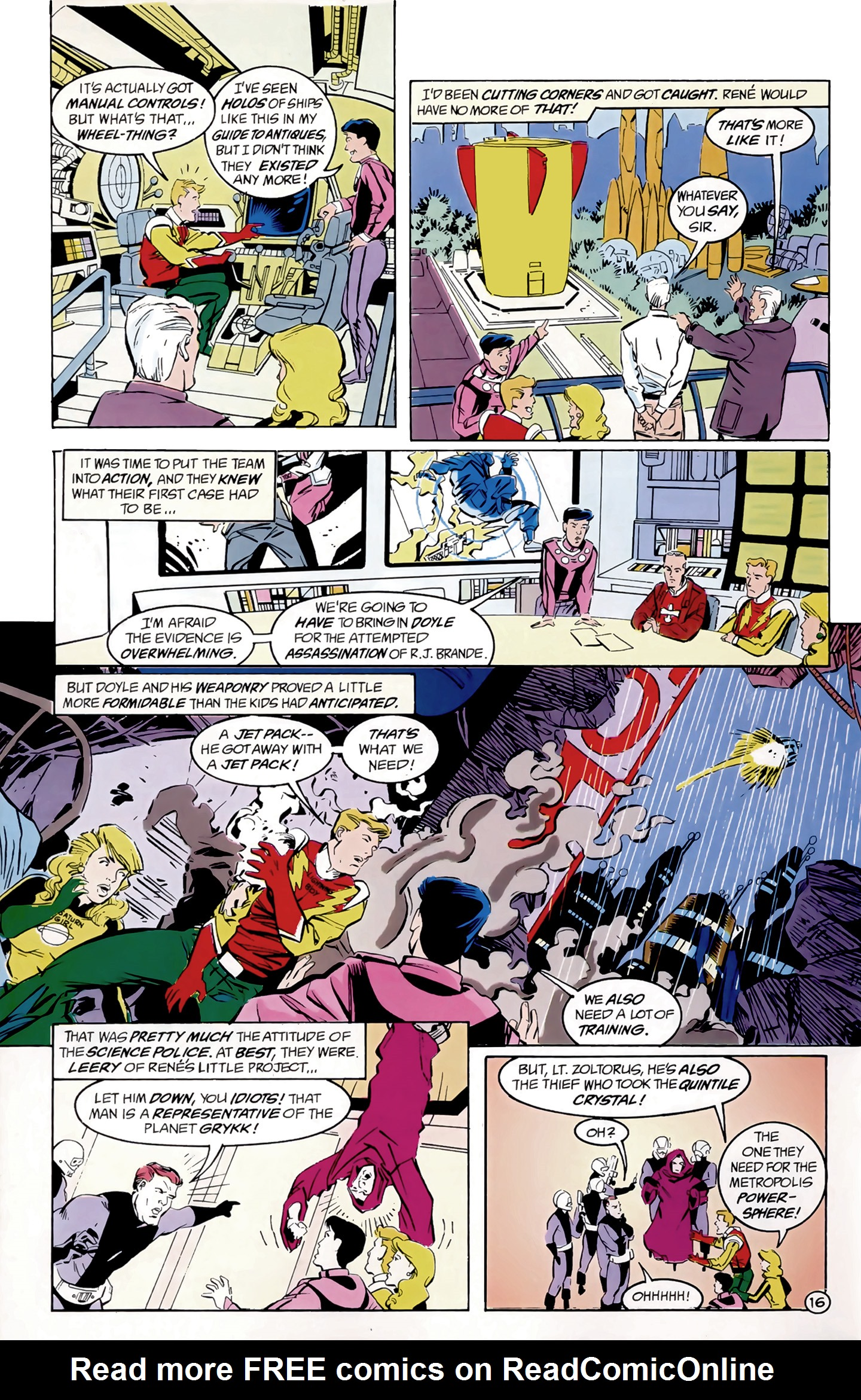 Legion of Super-Heroes (1989) 8 Page 16