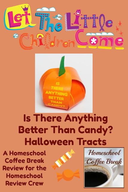 Is There Anything Better Than Candy? - Halloween Tracts (A Homeschool Coffee Break Review) on kympossibleblog.blogspot.com