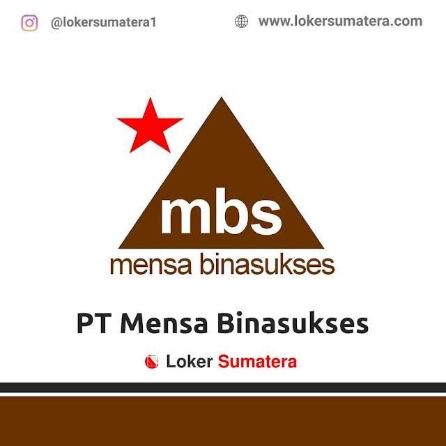 Lowongan Kerja Pekanbaru, PT Mensa Binasukses Juni 2021