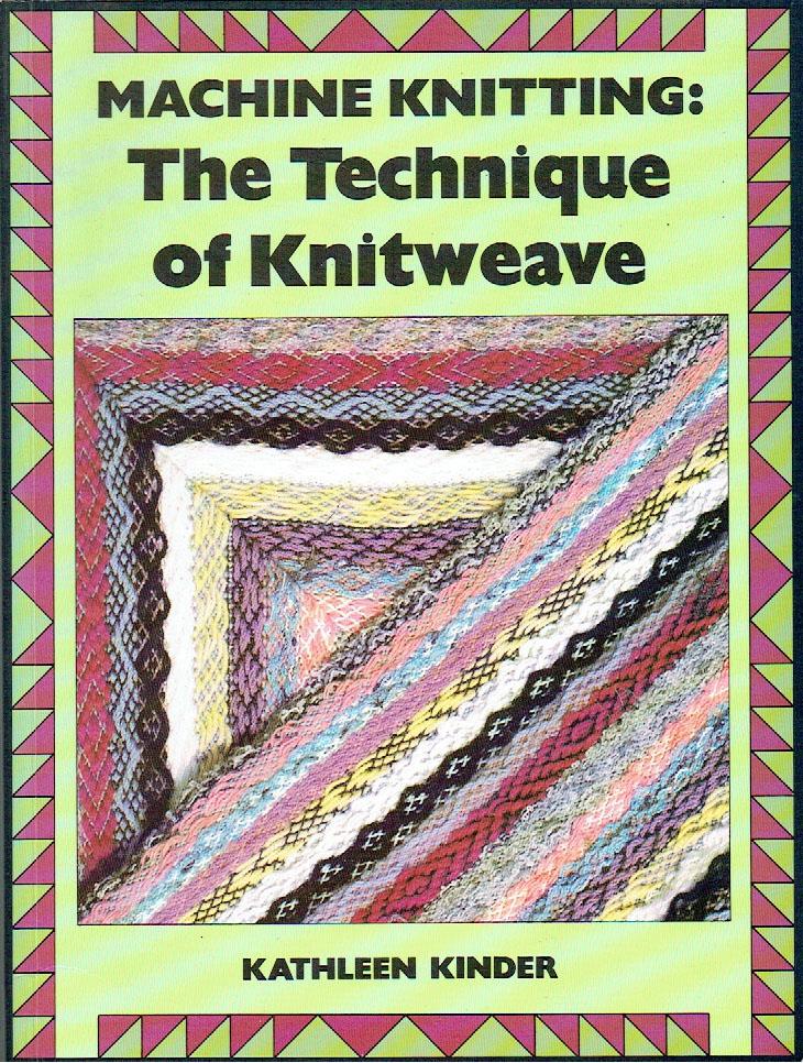 kinder machine knitting books