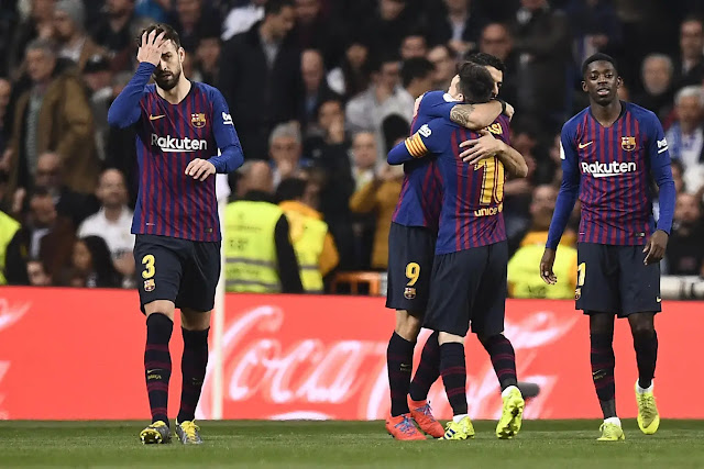 El Clasico: Real Madrid 0 - 3 Barcelona