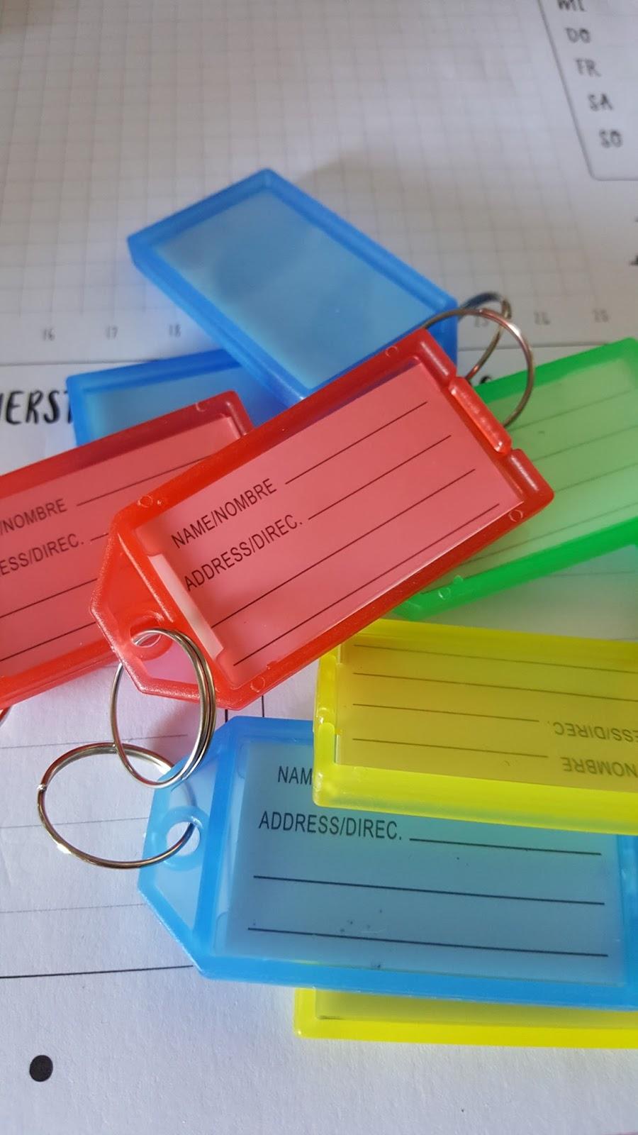 lahr2006 testet: Lictin 70 Schlüsselanhänger, Schlüsselschilder ...