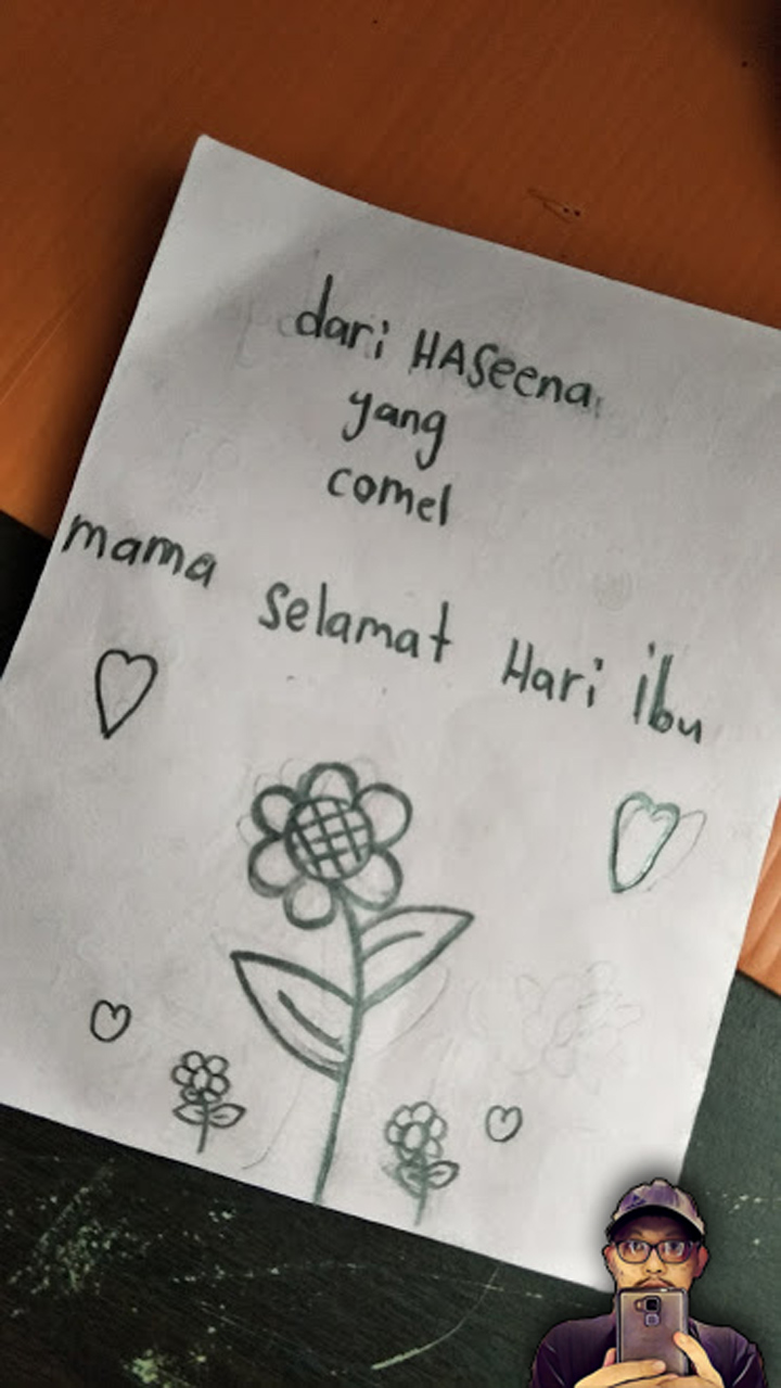 Kad Ucapan Hari Ibu Anak Umur 7 Tahun