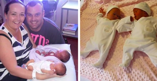 These Parents Welcome Their Twins With Joy,