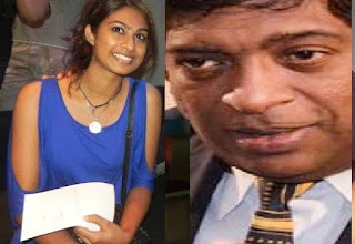 Foreign Affairs Minister Ravi Karunanayake's daughter Onella