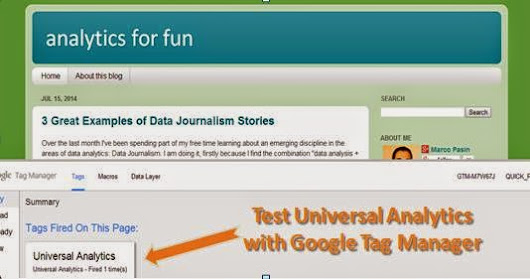 How to Test Universal Analytics Before Upgrading: via Google Tag Manager