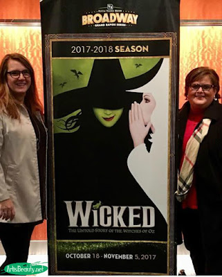 katie and i at wicked the musical