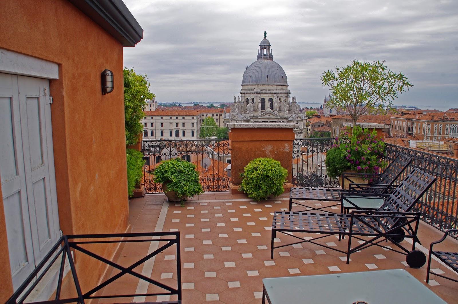 Westin Europa & Regina Venice Rooftop terrace