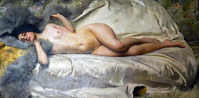 Giacomo Grosso,  Il nude in arte, Artistic Nude