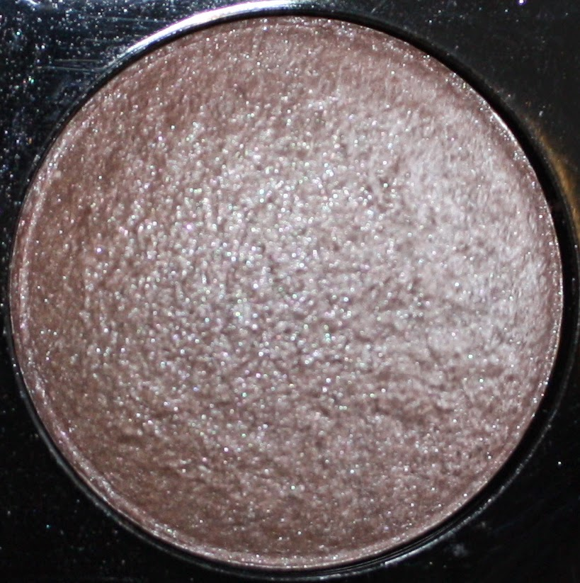 NYX Baked Eyeshadow in Vesper Swatch & Review