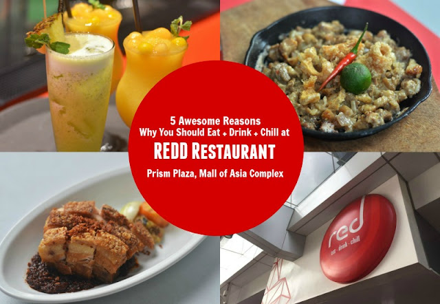 5 Awesome Reasons Why You Should Eat Drink Chill at Redd Restaurant