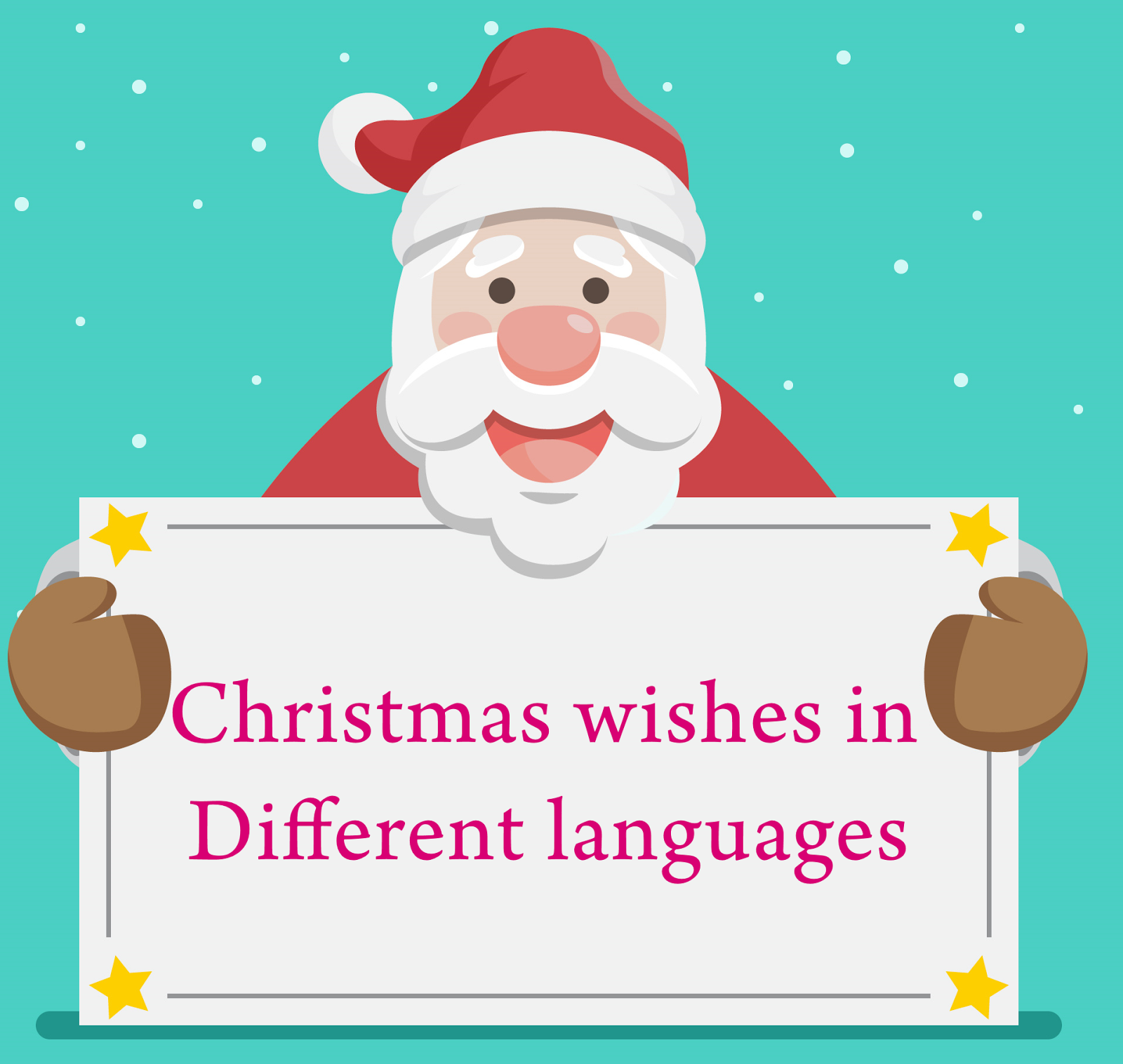 Top 10 Christmas Wishes In Different Languages Thanksgiving Day 2017