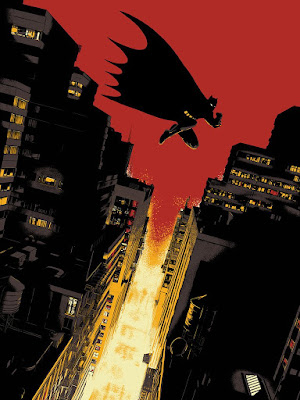 Batman: Year One Screen Print by Raid71 x Bottleneck Gallery