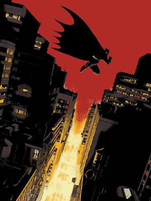 Batman: Year One Screen Print by Raid71 x Bottleneck Gallery
