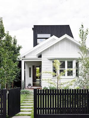 warna cat pagar rumah yang bagus hitam