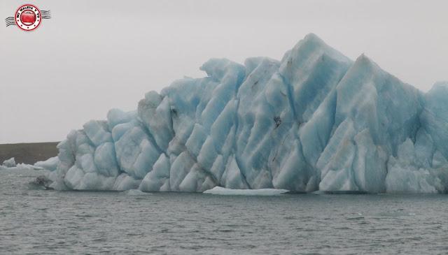 Laguna glaciar Jökulsárlón, Islandia
