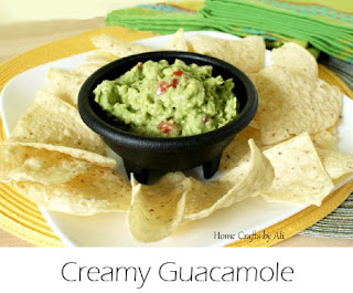 Creamy and delicious Guacamole
