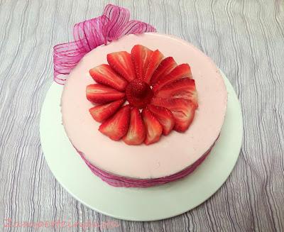 Cheesecake di fragole - Ricette con le fragole