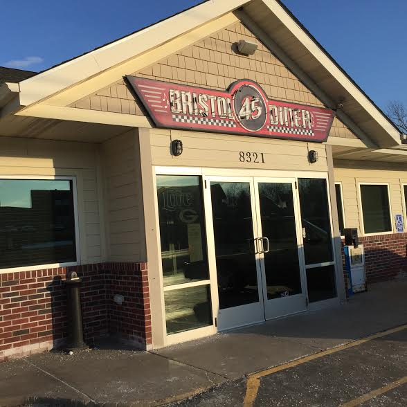 Bristol 45 Diner in Bristol, Wisconsin