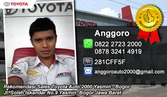Dealer Resmi Toyota Yasmin, Bogor