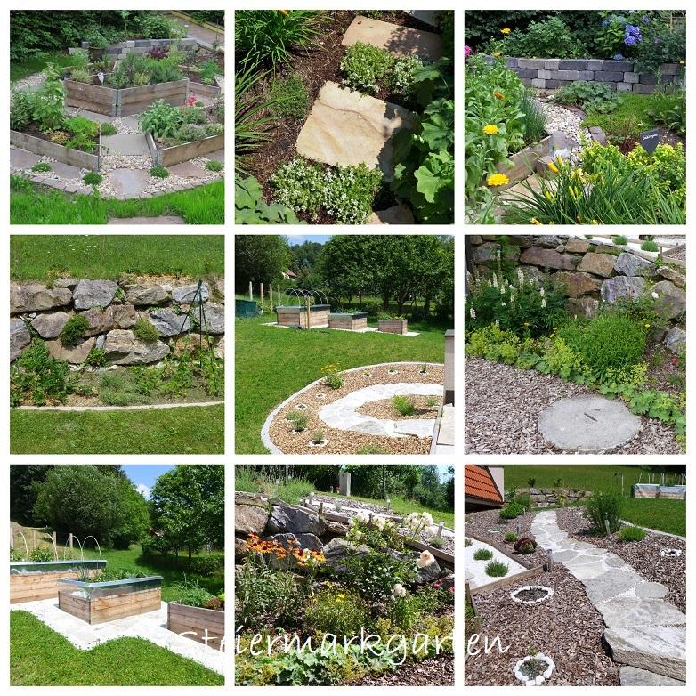 Collage-Gärten-Steiermarkgarten