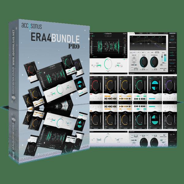 Accusonus ERA 5 Bundle Pro v5.3.00 Full version