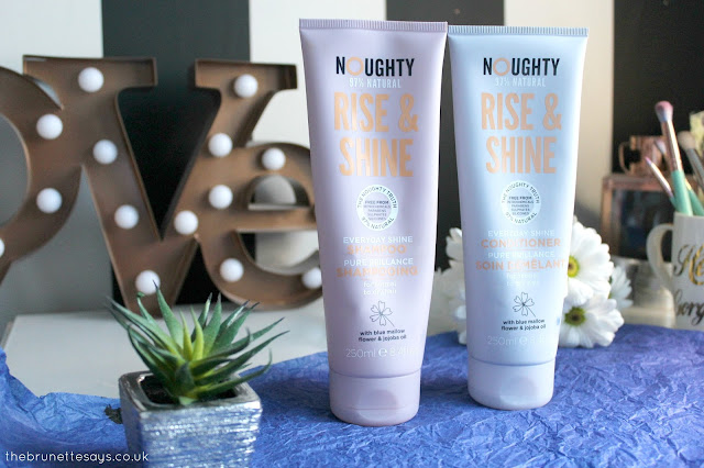 Noughty, shampoo, conditioner, haircare, beauty,