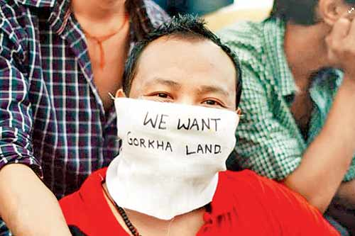 Gorkhaland looks to be a by-gone discussion all of a sudden