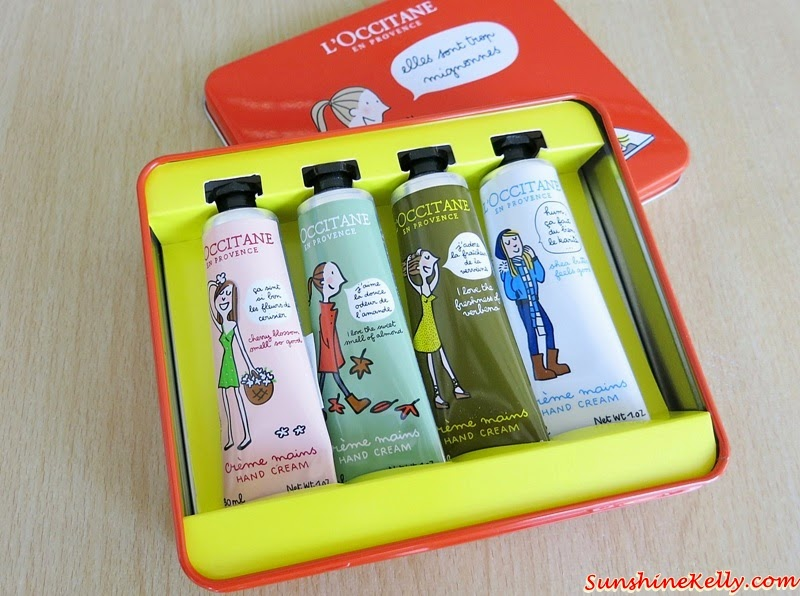 L'OCCITANE x ELLE Limited Edition Hand Cream Collection, L'OCCITANE, ELLE, Hand Cream, Soledad Bravi, French Artist, Shea Hand Cream, Verbena Hand Cream, Cherry Blossom Hand Cream, Almond Hand Cream