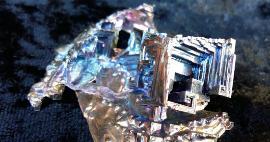 ULTRA RARE Bismuth Crystals Gemstones FOR SALE in South Africa