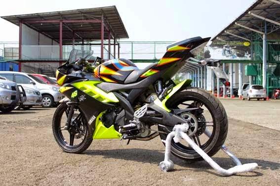 Modifikasi Yamaha YZF-R15