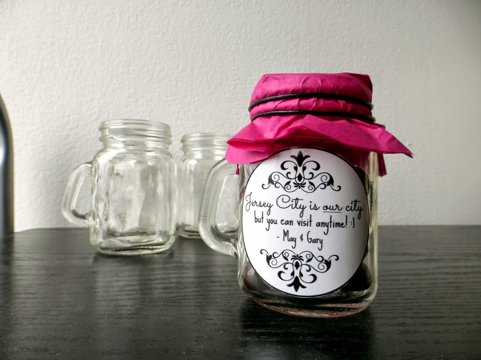 Mini Mason Jar Candy Holder