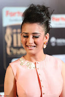 Akshara Haasan in Peachy Crop Top Choli Skirt at IIFA Utsavam Awards 012.JPG