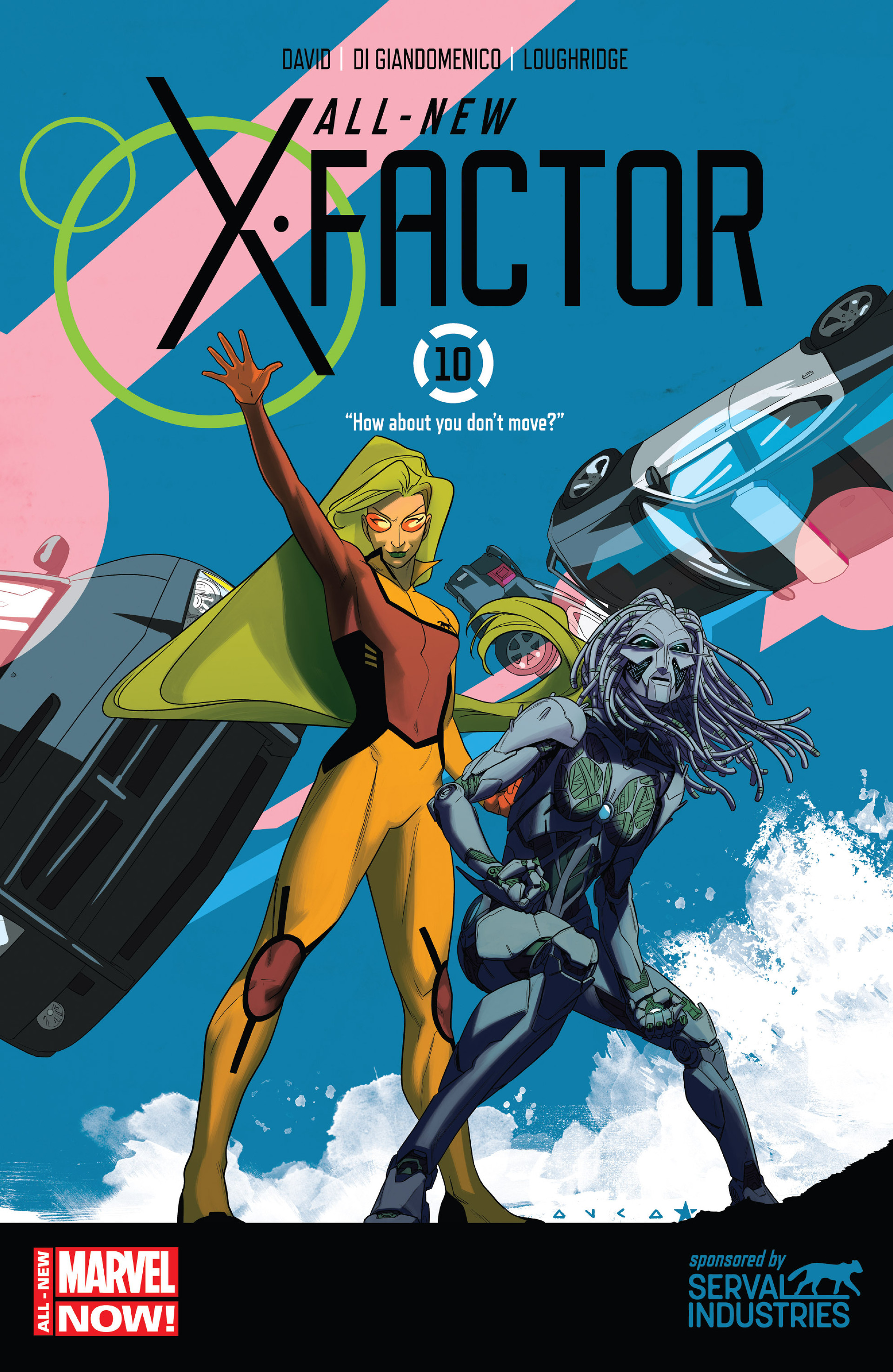 Read online All-New X-Factor comic -  Issue #10 - 1