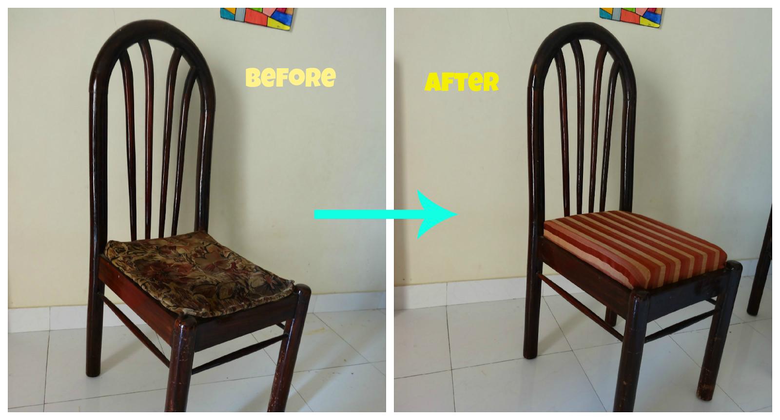 NichuSpace: Upholster a chair