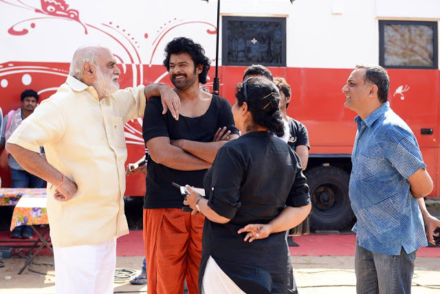 Bahubali-2 Shooting Spot Photo leaked viral