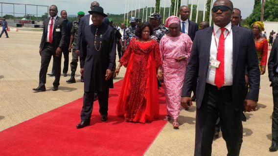 patience jonathan absent buhari inauguration
