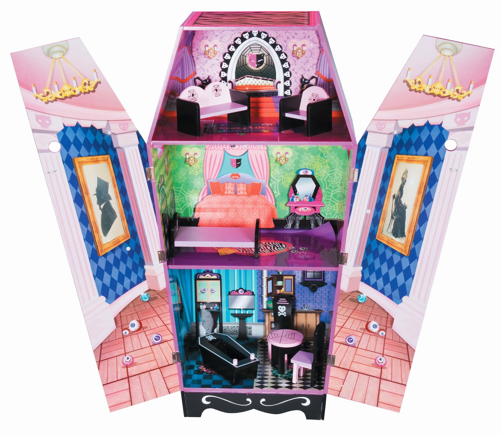 maison hantee jouet club