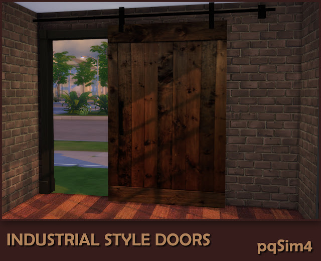 Industrial Style Decor Doors. Puerta 2