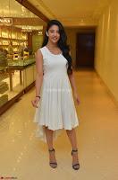 Daksha Nagarkar Cute Beauty in Sleeveless White Dress at Khwaaish Exhibition Launch 2017 ~  Exclusive 074.JPG