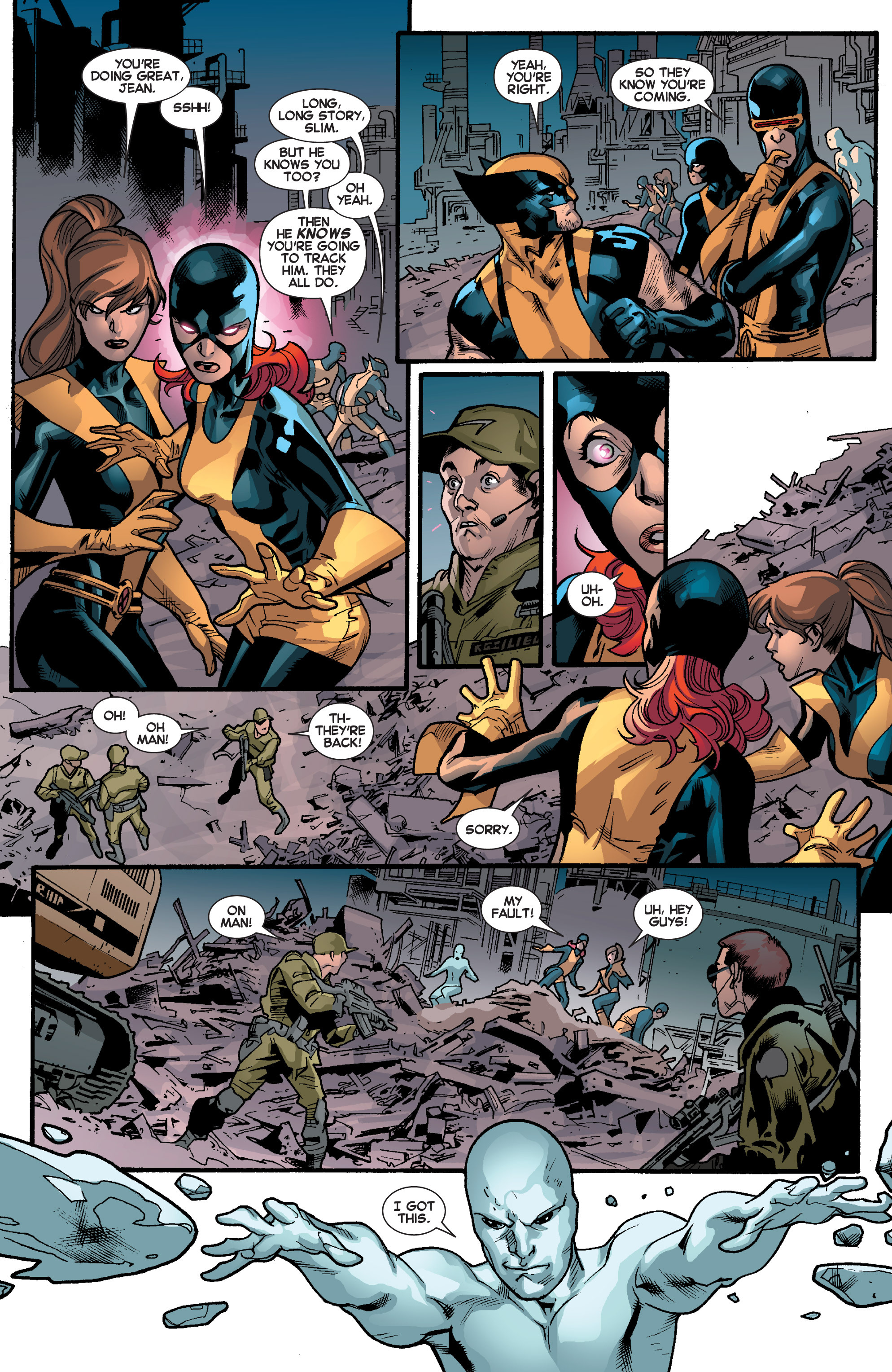 Read online All-New X-Men (2013) comic -  Issue # _Special - Out Of Their Depth - 54