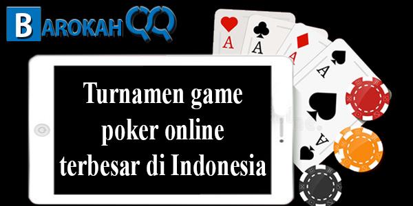Turnamen game poker online terbesar di Indonesia